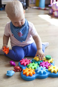 Ive always been such a big fan of Learning Resources toys and Lily already owns one or two sets from them. Ive always found their toys to. Little Learners, Learning Resources, Spinning, Lily, Nursery, Kids Rugs, Ocean, Toys, Children