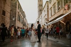 Dubrovnik wedding photographer | Sasawan & Oliver - Wedding photographer… Dubrovnik, Most Romantic, Destination Weddings, Croatia, Street View, World, City, Cities, The World