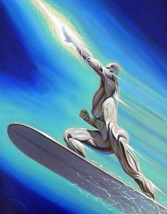 Silver Surfer by David Michael Beck