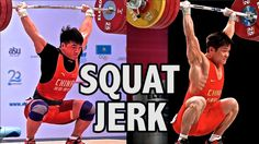 The Squat Jerk (CrossFit L1 vs. Olympic Gold Medalist - External vs Internal Rotation Over Head) #crossfit #fitness #WOD #workout #fitfam #gym #fit #health #training #CrossFitGames #bodybuilding