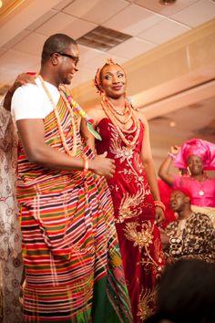 BellaNaija Bride Omo & Bella Naija Groom Emmanuel | Make Up by Victoria Dada | Jessica Maida Photography