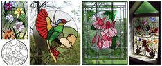 Aprende la técnica de falso vitral para hacer lindos adornos ~ Haz Manualidades Decoupage, Lily, Painting, Pasta, Textiles, Ideas, Stained Glass Designs, Stained Glass, Painting Art