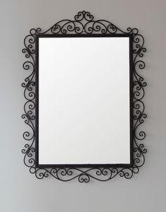 Iron Framed Moroccan Mirror