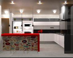 Cozinha Bacão Retro