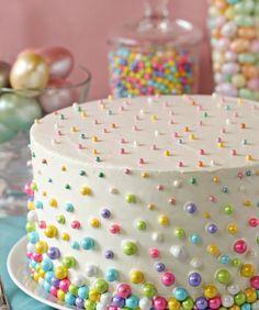 Polka Dot Cake : Beautiful Easter Cakes