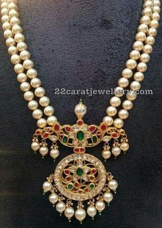 Fulfill a Wedding Tradition with Estate Bridal Jewelry Gold Jewelry Simple, Stylish Jewelry, Fashion Jewelry, Fashion Wear, Pearl Necklace Designs, Antique Necklace, Gold Pendent, Emerald Pendant, Gold Jewellery Design