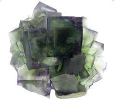 Fluorite - Okorusu mine, Otjiwarongo District, Namibia