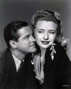 Robert Cummings and Priscilla Lane still from Saboteur 1942