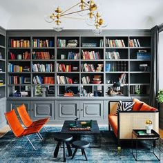 Bookshelf Styling, Bookshelves, Bookcase, Book Outlet, Personal Library, Men With Street Style, Just The Way, Home Interior Design, Instagram