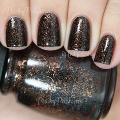 China Glaze Getting To Gnaw You | Halloween 2014 Apocalypse Of Color Collection | Peachy Polish