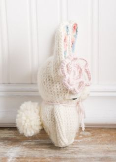 RESERVED FOR JANE Amigurumi Crocheted Bunny by LueandSue on Etsy