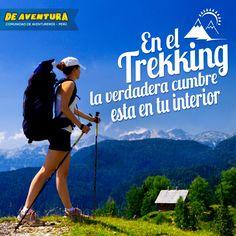 Aventura al realizar trekking