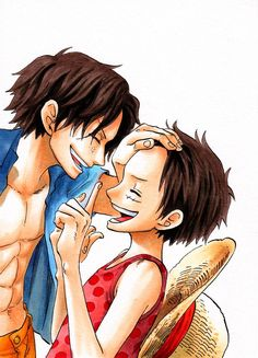 ACE and Luffy -one piece