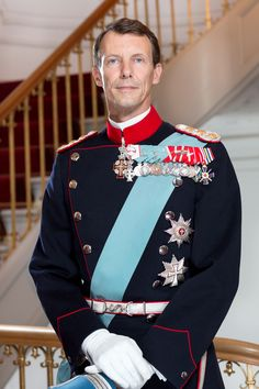 New official photos of Prince Joachim and Princess Marie.05/10/2015