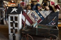Primitive Saltbox Country House with Storage and lights - The Rustic Saltbox  - 2 (scheduled via http://www.tailwindapp.com?utm_source=pinterest&utm_medium=twpin&utm_content=post93356435&utm_campaign=scheduler_attribution)