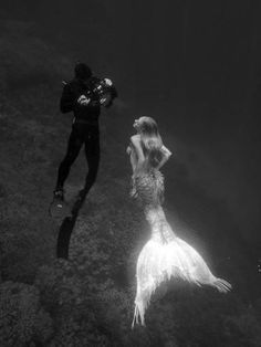 The Mermaid and The Diver, author unknown