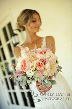 Wedding Flowers - Love the Astilbe!