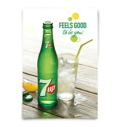 7up simbolo slogan feels good to be you