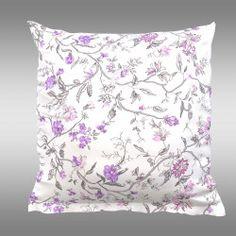 Povlak na polštář PROVENCE Beáta fialová Provence, Tapestry, Throw Pillows, Bed, Home Decor, Hanging Tapestry, Tapestries, Toss Pillows, Decoration Home