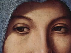 Antonello da Messina, Annunciation, detail