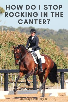 How do I stop rocking in the canter? - How do I stop rocking in the canter? How to stop rocking in the canter Horseback Riding Tips, Horse Riding Tips, Horse Exercises, Training Exercises, Horse Care Tips, Equestrian Outfits, Equestrian Girls, Equestrian Style, Horse Quotes
