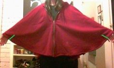 How to make a trench / mac. Winter Fashion Cape - Step 9