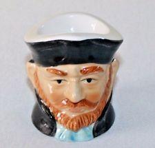 Vintage Porcelain Ceramic Egg Cup Ship Captain Pirate Japan Ron Gordon Designs
