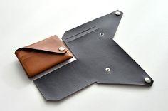 Smart Wallet - Carteira Masculina Slim em Couro e Porta Moeda …