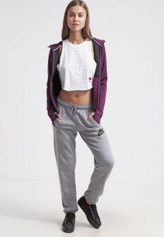 Nike Sportswear - RALLY - Pantalon de survêtement - carbon heather/cool grey/black