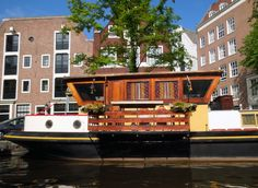 Three houseboat canals: