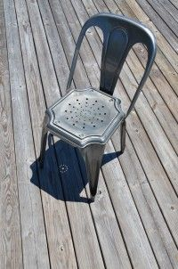 great metal chair