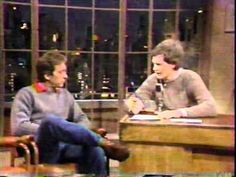 William Wegman and his dog Man-Ray on David Letterman - Amazing clip... how it all got started.