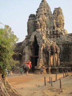 O Deus Brahma em Angkor-Vat - Cambodja