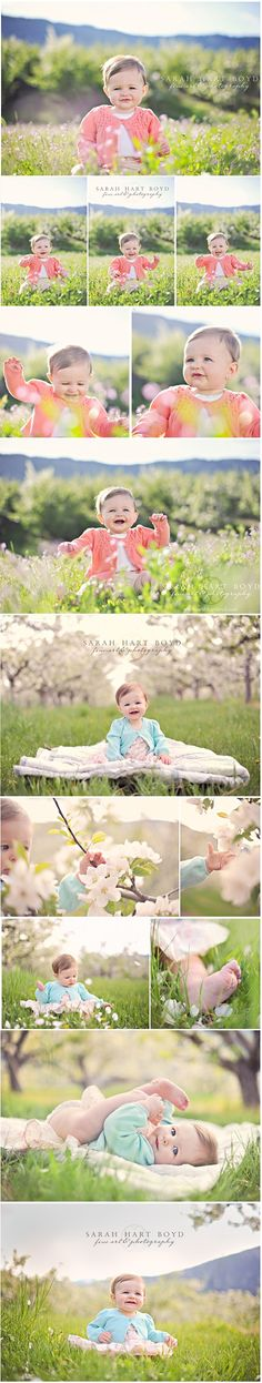 Does it get any better than a baby photographed in the spring time? © Sarah Hart Boyd, Fine Art & Photography