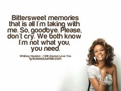 whitney houston lyrics - Google Search