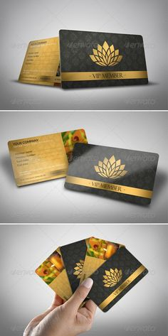 Buy Luxury Spa Vip Card by on GraphicRiver.