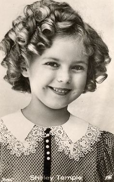 RIP Shirley Temple, 1930s.     a very talented little lady that brought happiness to most during the depression days....