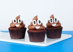 Cheeky and chocolately, these emoji cupcakes are sure to put a smile on…