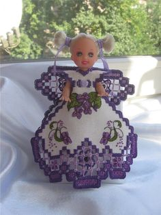 Вышивка в технике хардангер – Ярмарка Мастеров Hardanger Embroidery, All Things Purple, Bargello, Needful Things, Needlework, Diy And Crafts, Projects To Try, Creations, Cross Stitch