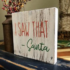 Excited to share this item from my shop: Wood Christmas Sign Christmas Wood Crafts, Christmas Signs Wood, Holiday Signs, Farmhouse Christmas Decor, Christmas Projects, Holiday Crafts, Christmas Holidays, White Christmas, Christmas Bedroom