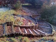 log garden steps on a slope - Google Search