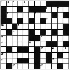 Medical crossword