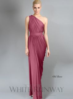 Color: Old Rose. Ingrid Dress by PGP