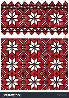 ukrainian embroidery pattern