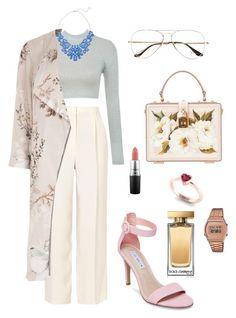 """Jewelry"" by doris-sabatini on Polyvore featuring moda, The Row, Eye Candy, River Island, Steve Madden, Ray-Ban, Dolce&Gabbana, Casio y MAC Cosmetics"