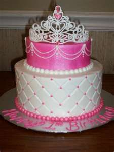 princess cake: I like the design of the top cake