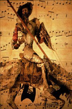 "Saatchi Online Artist Nina Gershuni; Photography, ""Don Quixote"" #art"