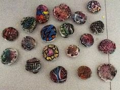 ART ON MY HANDS: Texture Magnets for Kindergarten/1st