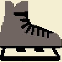 Looking for your next project? You're going to love Hockey Skate Pattern by designer PunkysPatterns. Knitting Charts, Knitting Patterns, Charts And Graphs, The Fosters, Ravelry, Hockey, Projects To Try, Creative, Crafts