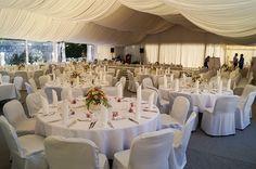 Wedding reception in the garden #wedding #weddingreception